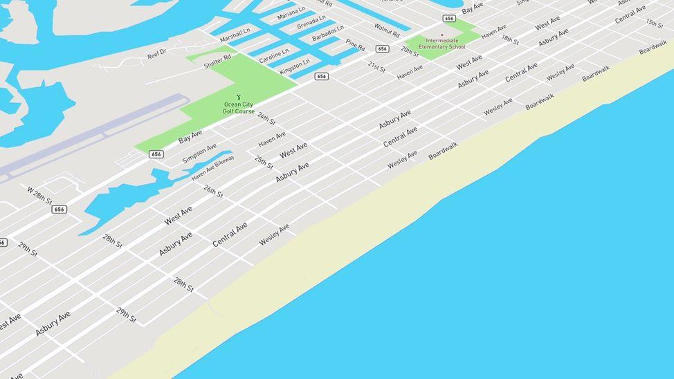 goldcoast neighborhood in ocean city nj
