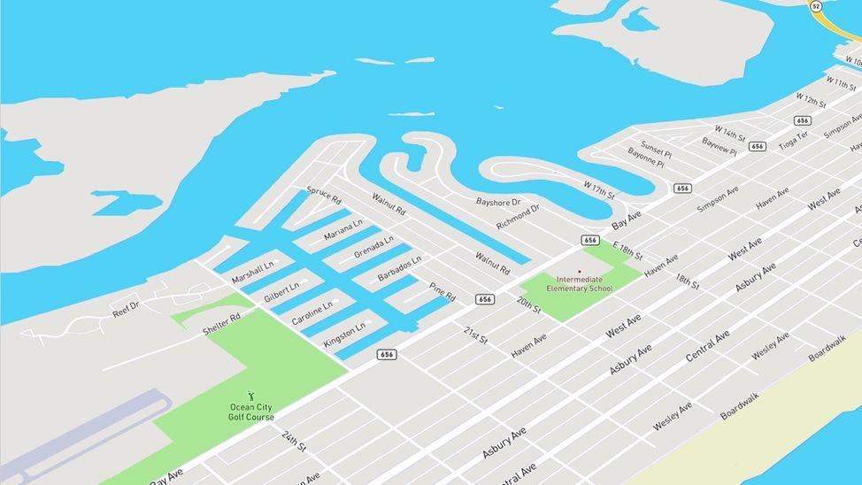 riviera neighborhood in ocean city nj