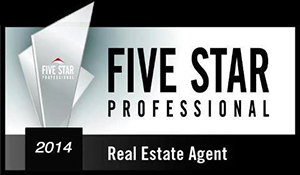 2014 Five Star Agent Award