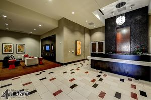 Enjoy 24-hour security, flat-screens in all lobbies and near elevators, and courteous staff.