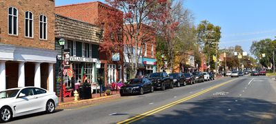 A Fall Day In Davidson
