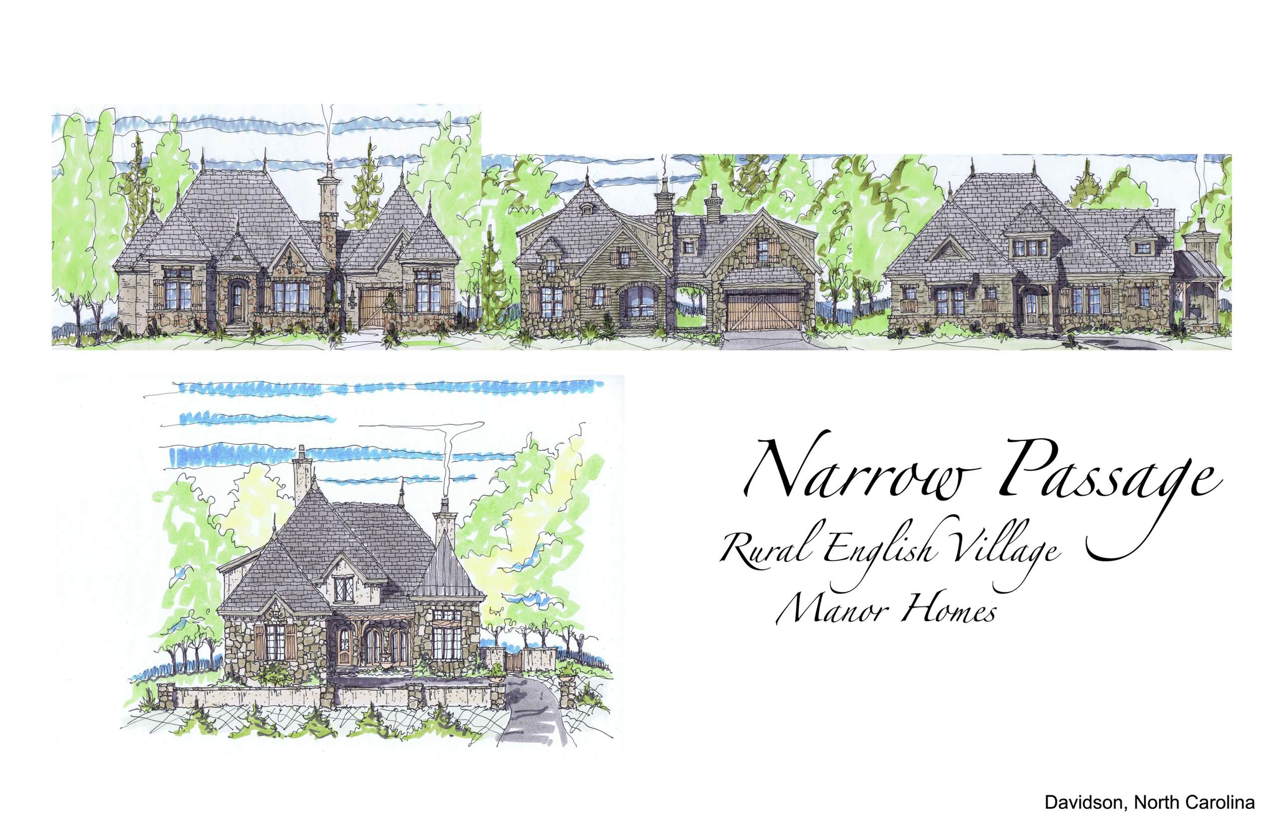 Narrow Passage Manor Homes