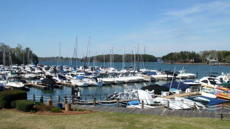 Boats At Yacht Club