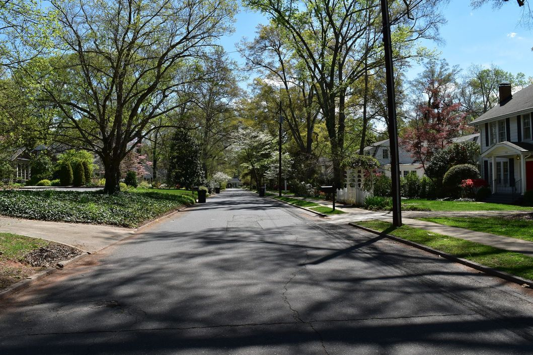 Davidson In-Town Homes Along Lorimer Road In Downtown Davidson