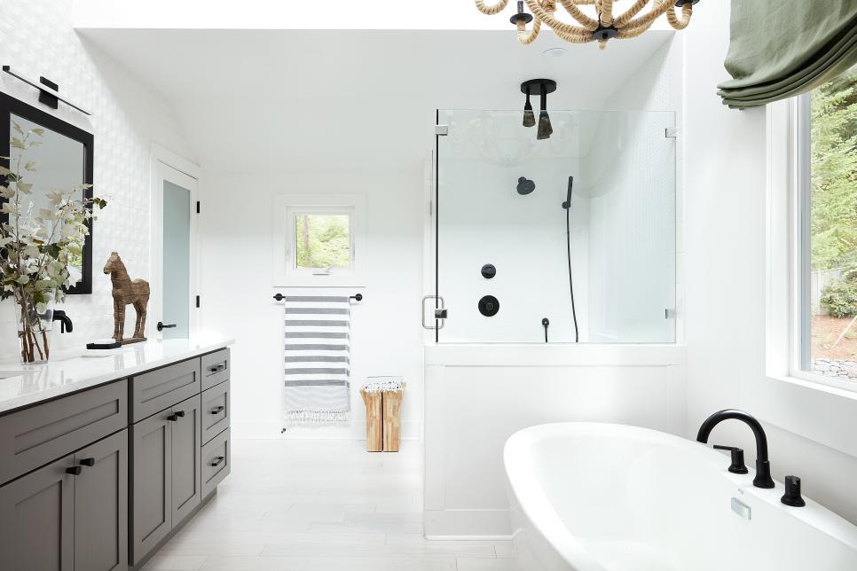 Hgtv dream home 2018 in gig harbor wa see photos for Dream house master bathroom