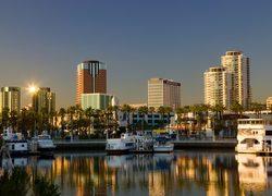 Downtown Long Beach waterfront