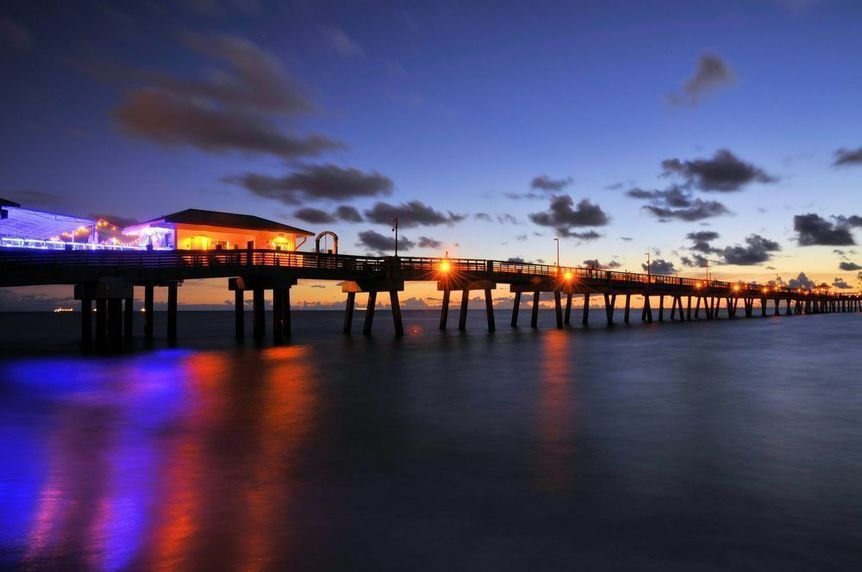Dania Beach in Broward County, Florida
