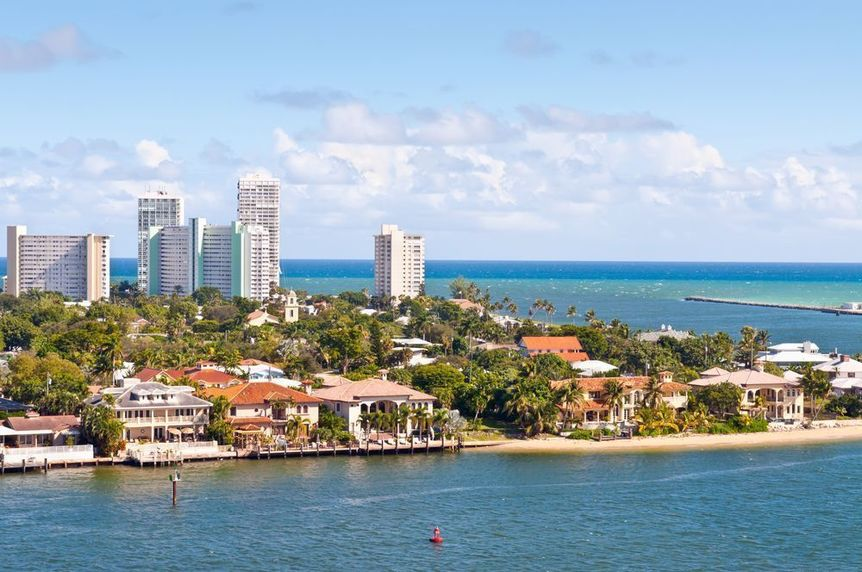 Fort Lauderdale in Broward County Florida