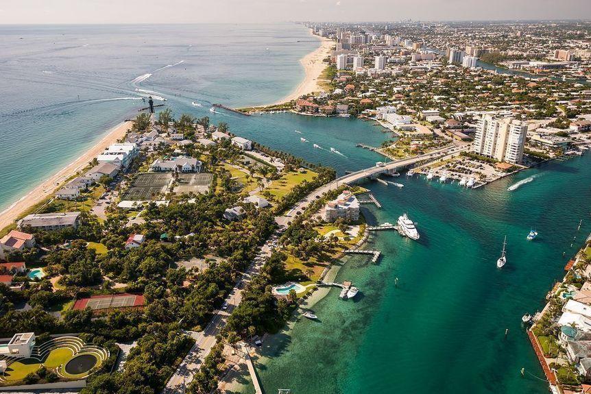 Hillsboro Beach in Broward County, Florida