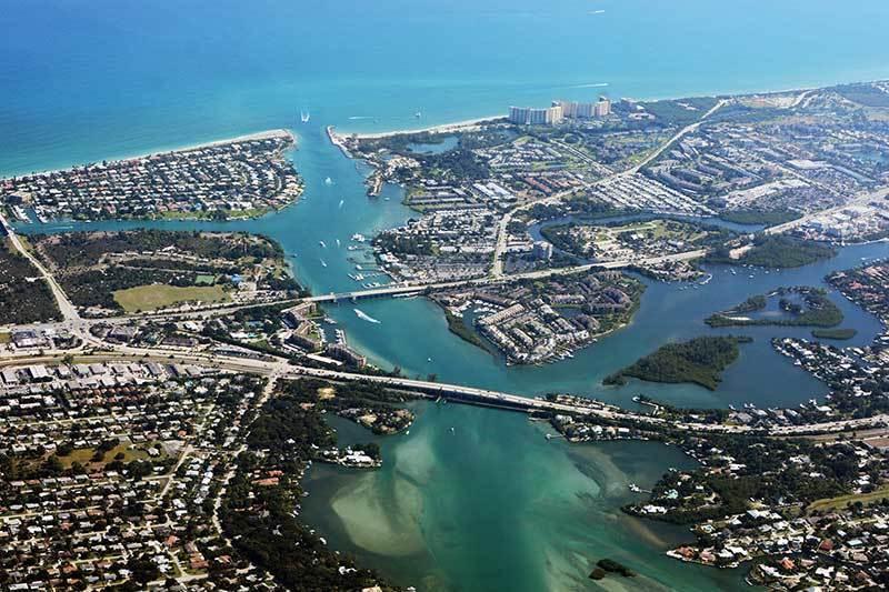 Jupiter in Palm Beach County, Florida