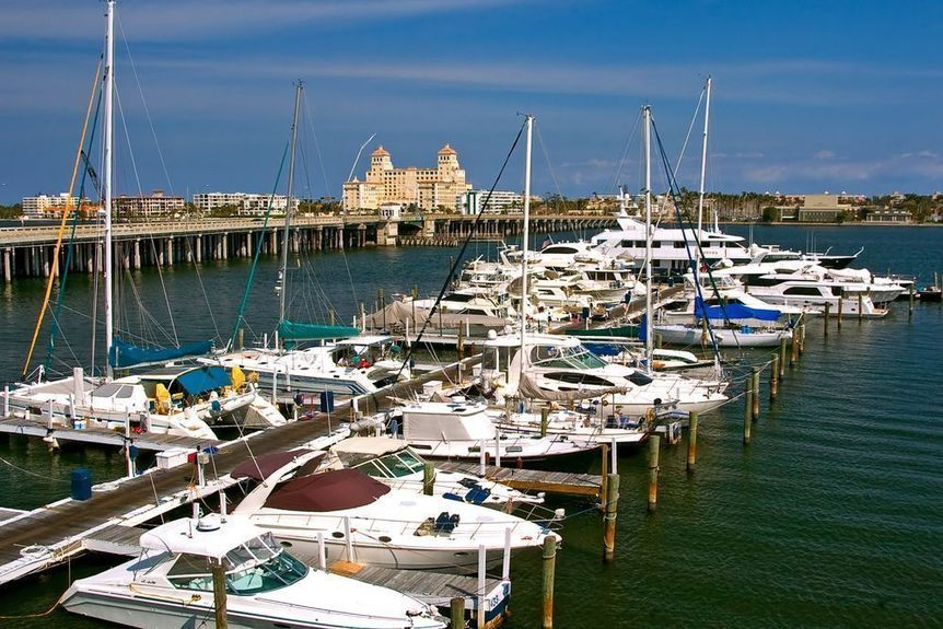Lantana in Palm Beach County, Florida