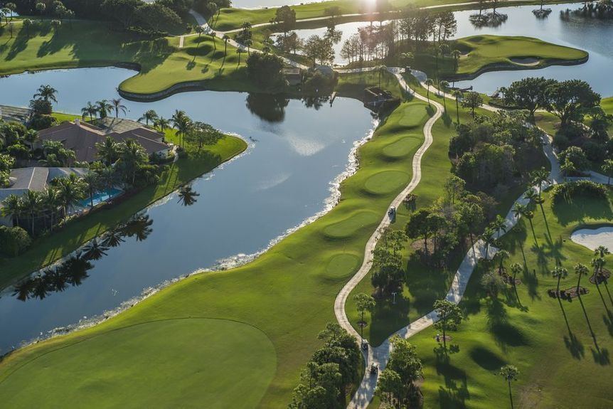 Golf in Palm Beach County, Florida
