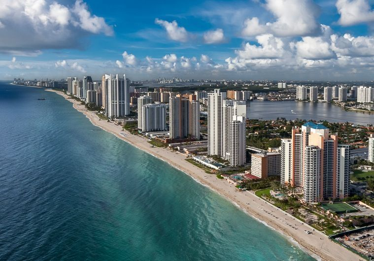 Sunny Isles Beach in Miami-Dade County, Florida