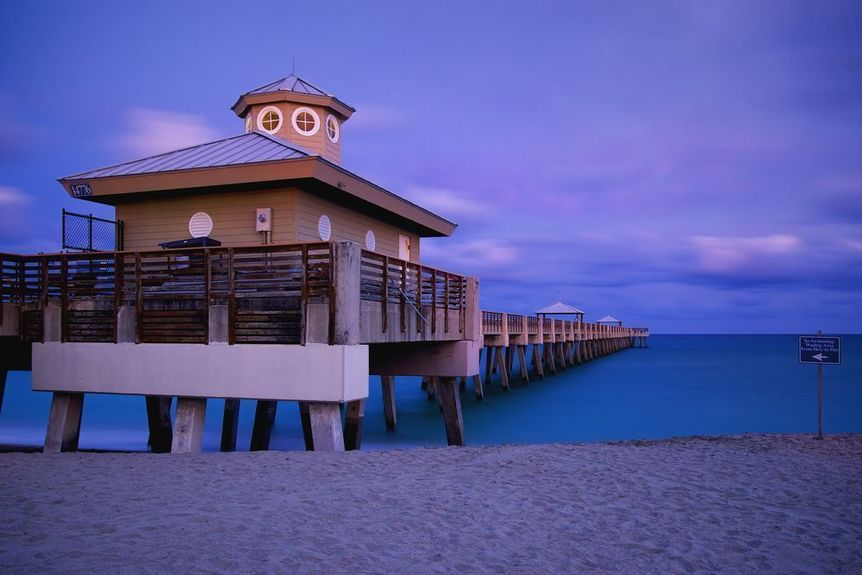 Juno Beach in Palm Beach County, Florida