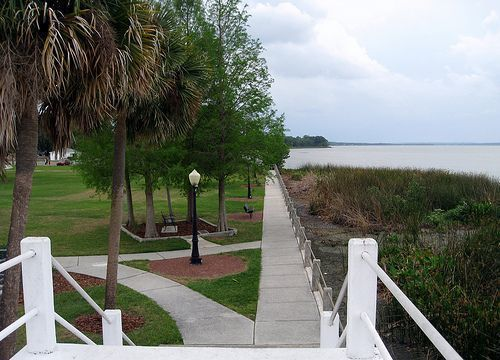 Winter Garden - Lakeview Park - View From Bridge