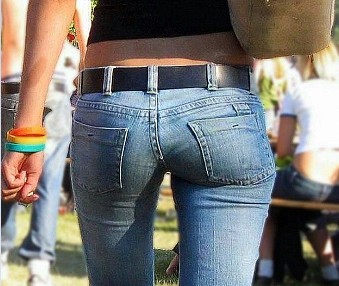Smaller Butt In Jeans