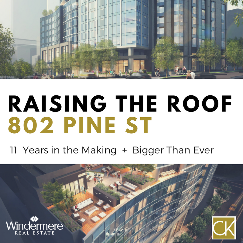 802 Pine St - a new high rise gets revised