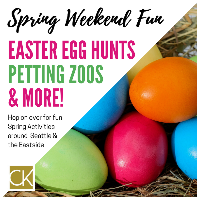 Spring Weekend Fun in Seattle + the Eastside
