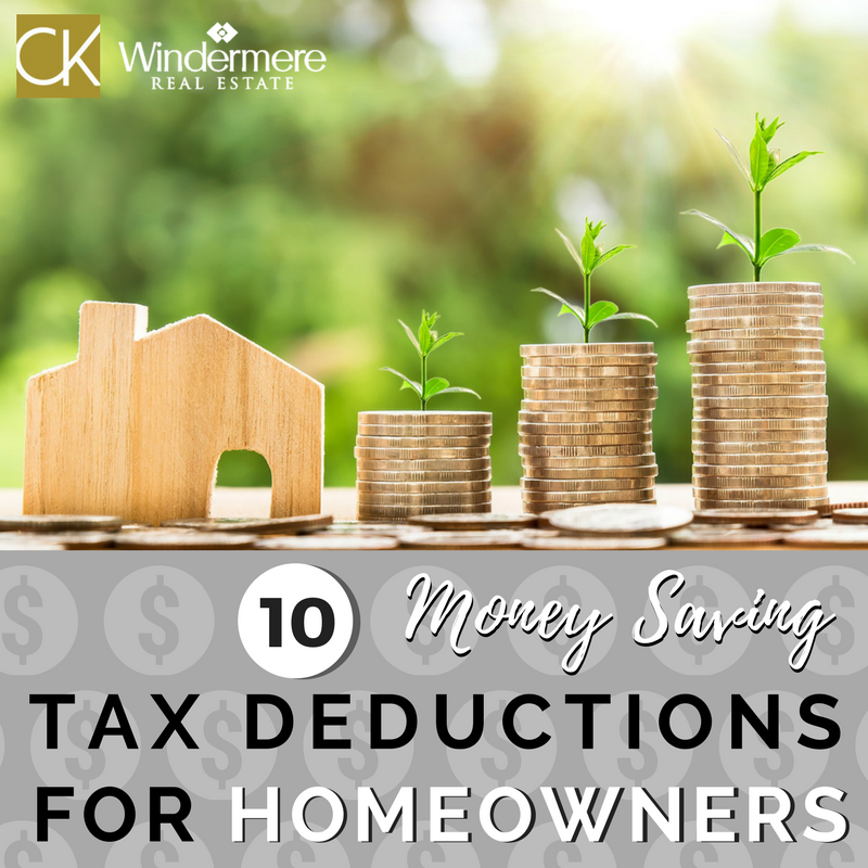 10 Money Saving Tax deductions for homeowners