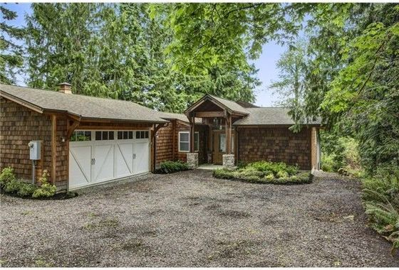 Welcoming Entry on Beautiful Wooded and Landscaped Lot