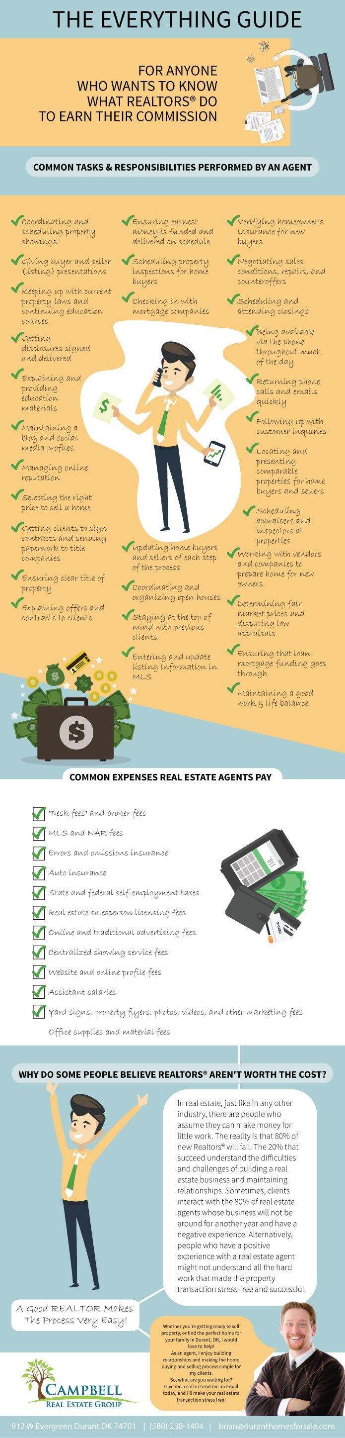 The Everything Guide For Anyone Who Wants To Know What Realtors® Do To Earn Their Commission