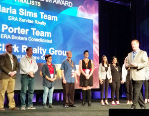 Maria Sims Team and other finalists recognized at ERA IBC 2018