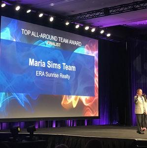 Maria Sims Team Recognized at ERA IBC 2018