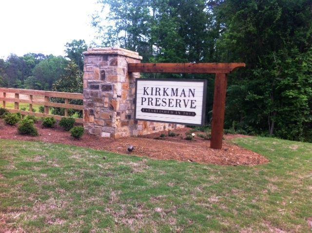 Kirkman Preserve Entrance image