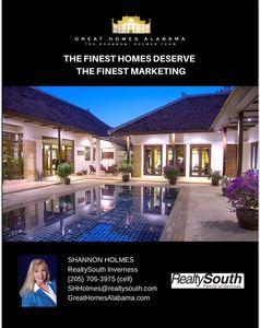 marketing luxury properties page 1 listing presentation image