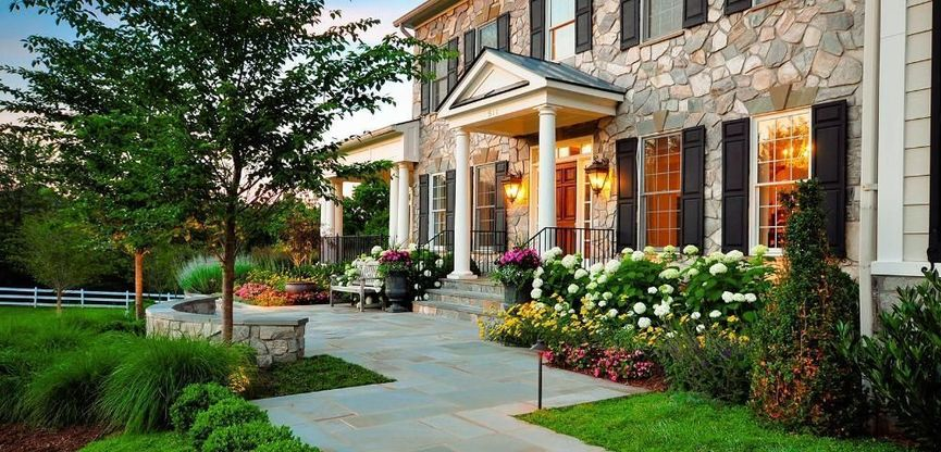 landscape curb appeal home renovations image