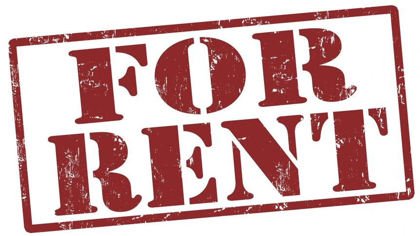 for renting sign