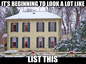 listing your home in Novi Michigan during the holiday