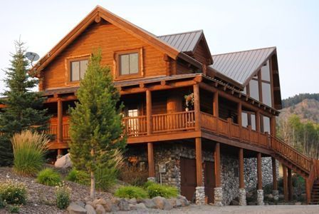 Ashton Idaho Log Lodge