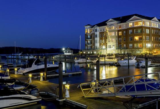 belmont-bay-marina-evening