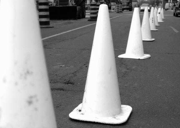 Boca Raton road construction- in