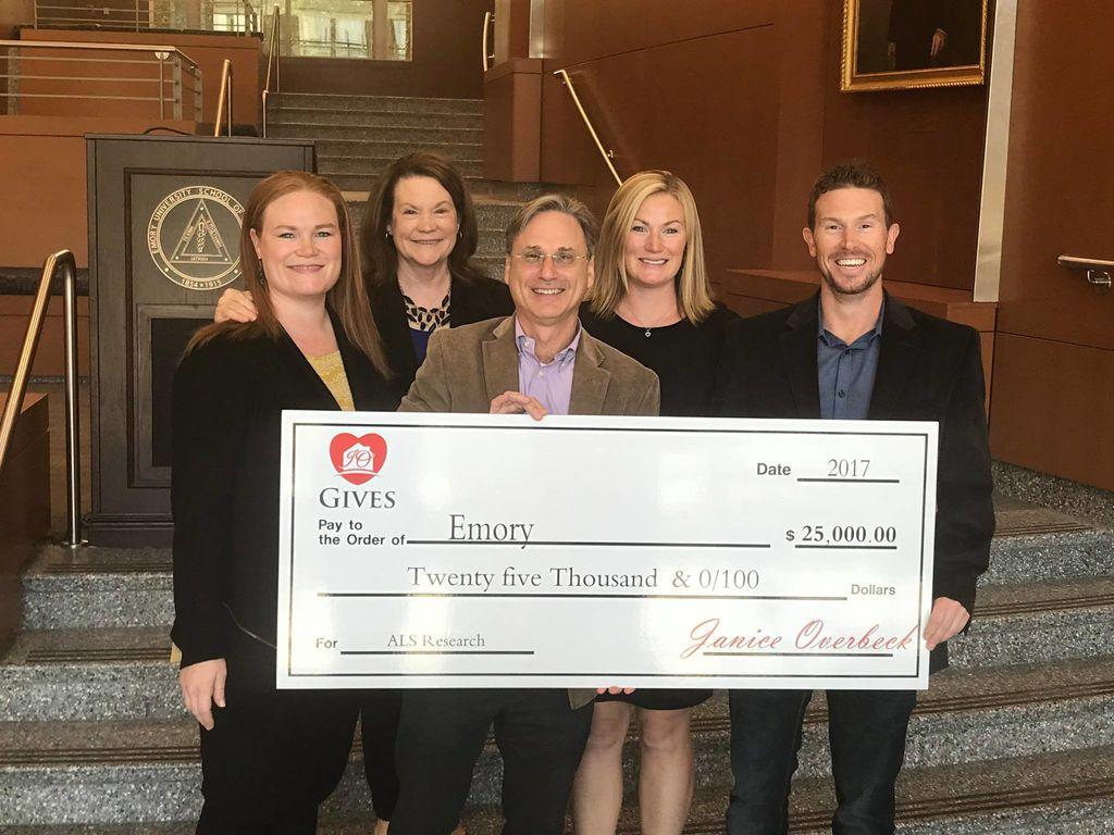 Emory ALS Donation