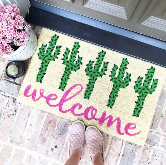 Brighten Up Your Outdoor Space with a New Doormat