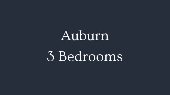 Auburn 3 Bedrooms