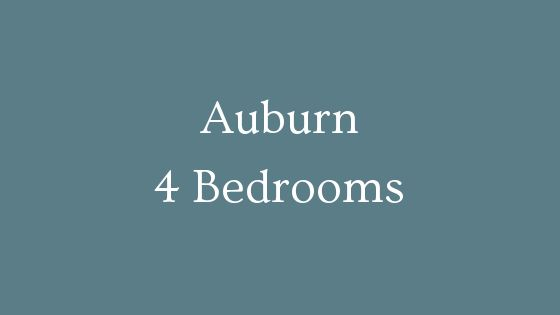 Auburn 4 Bedrooms