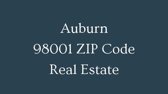 Auburn 98001 ZIP Code real estate