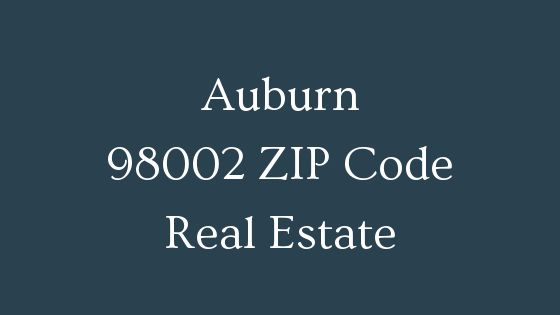 Auburn 98002 ZIP Code real estate