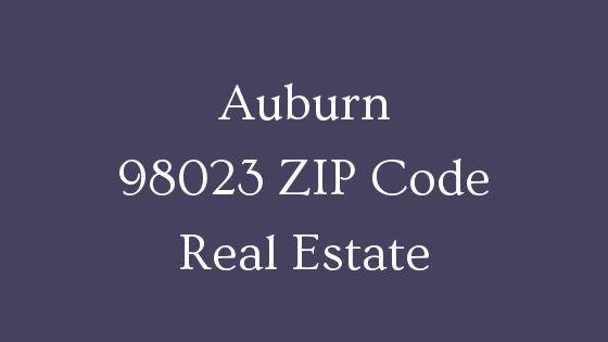 Auburn 98023 ZIP Code real estate