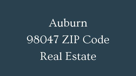 Auburn 98047 ZIP Code real estate