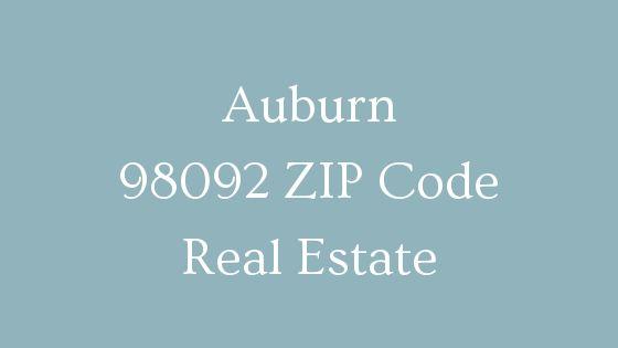 Auburn 98092 ZIP Code real estate
