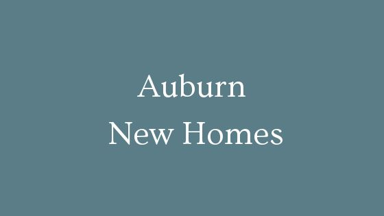 Auburn New Homes