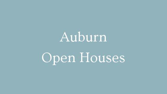 Auburn Open Houses