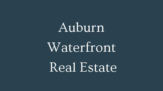 Auburn Waterfront Real Estate