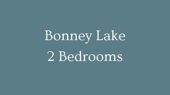 Bonney Lake 2 Bedrooms