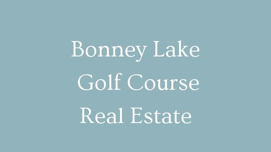 Bonney Lake golf course homes