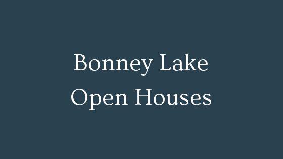 Bonney Lake Open Houses
